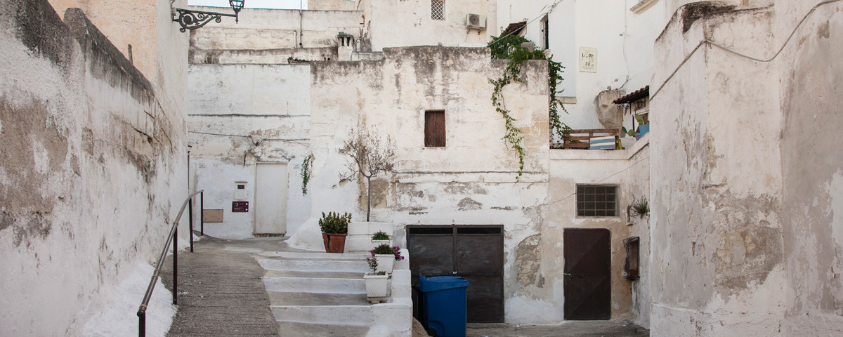 Sentieri nel centro di Massafra