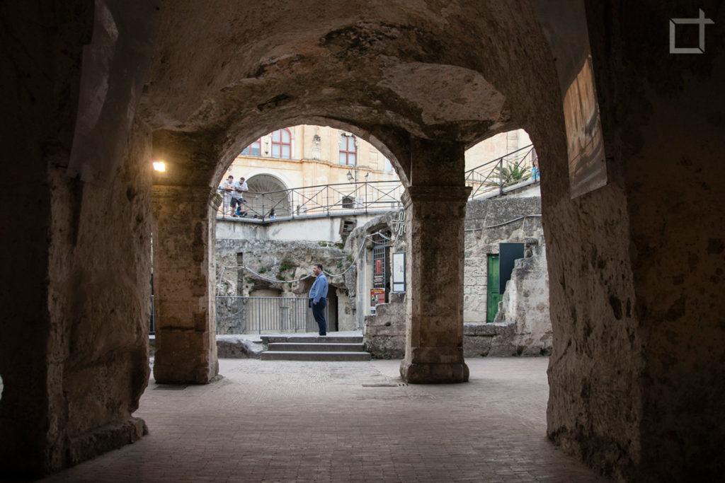 Piazza Vittorio Veneto Ingresso Sasso Barisano