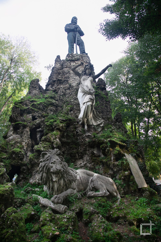 Monumento a Giuseppe Garibaldi Pavia