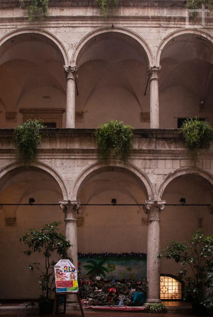 Corte Palazzo dei Capitani