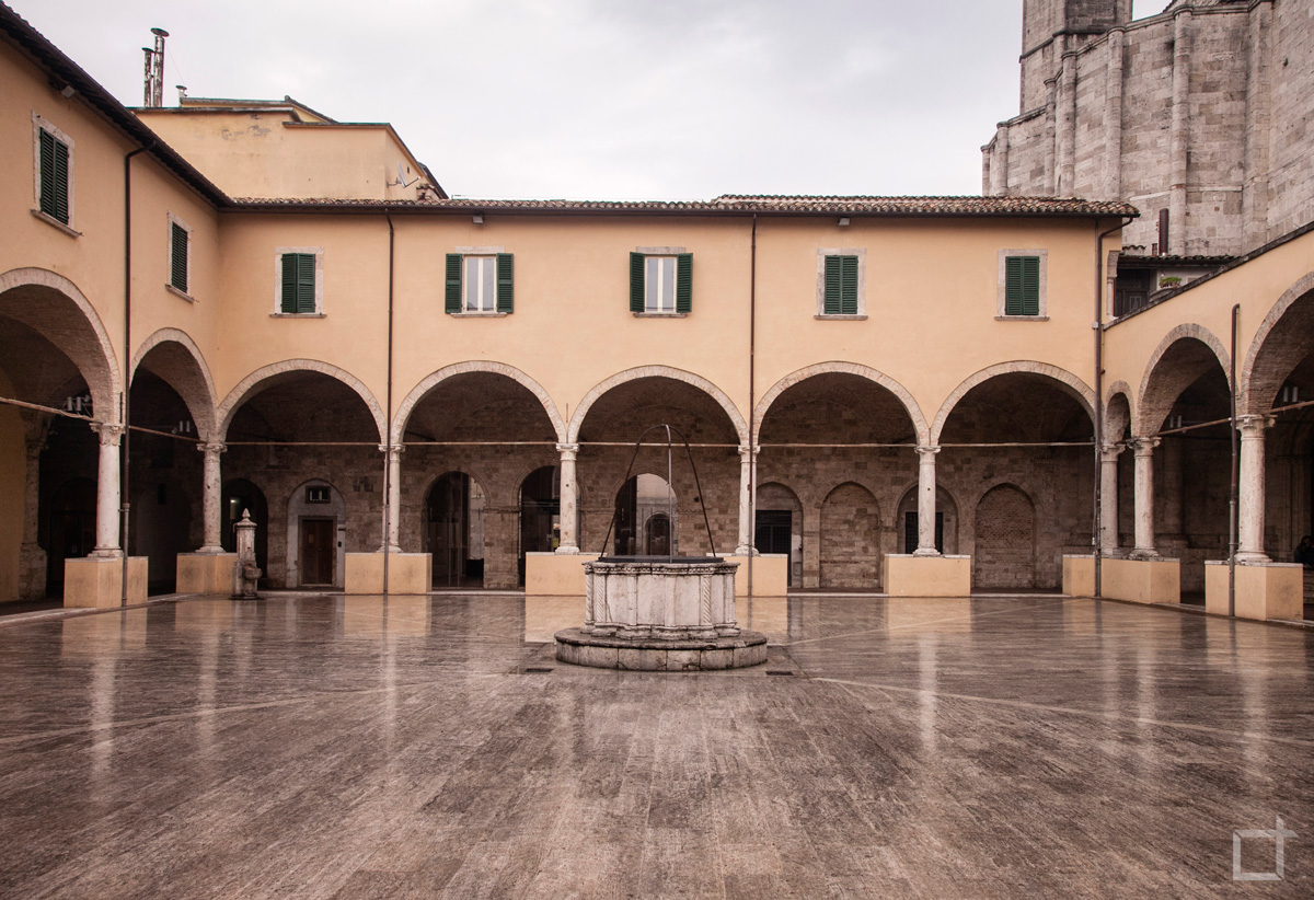 Chiostro Maggiore di San Francesco Ascoli Piceno