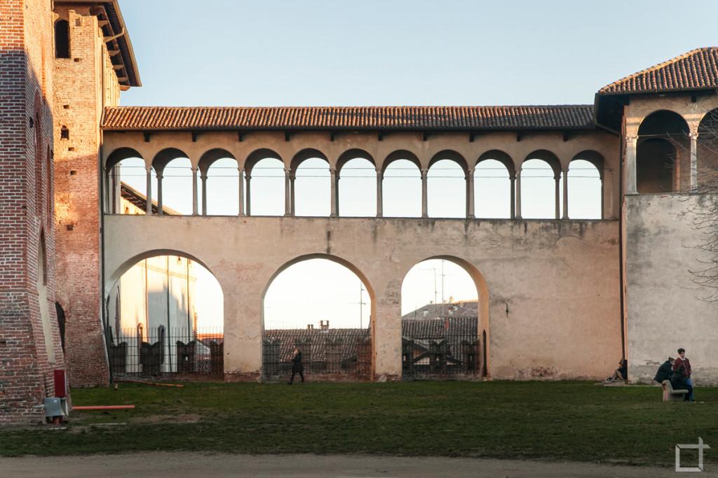 Castello Sforzesco Loggia delle Dame