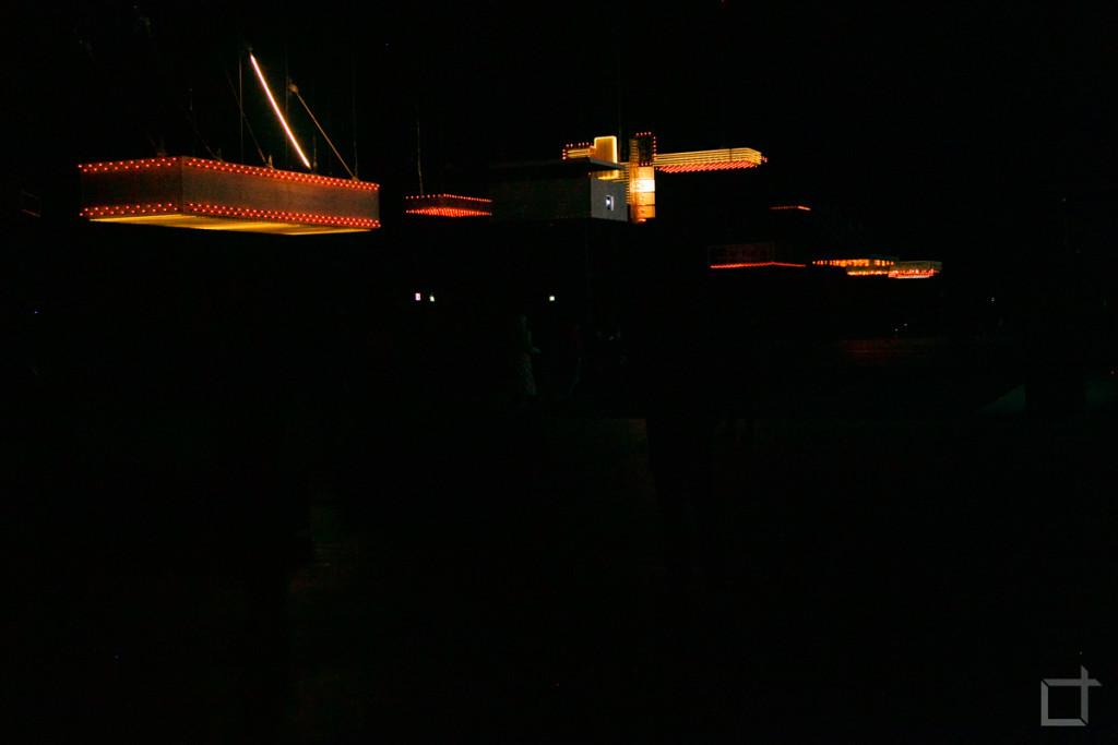 Corridoio illuminato