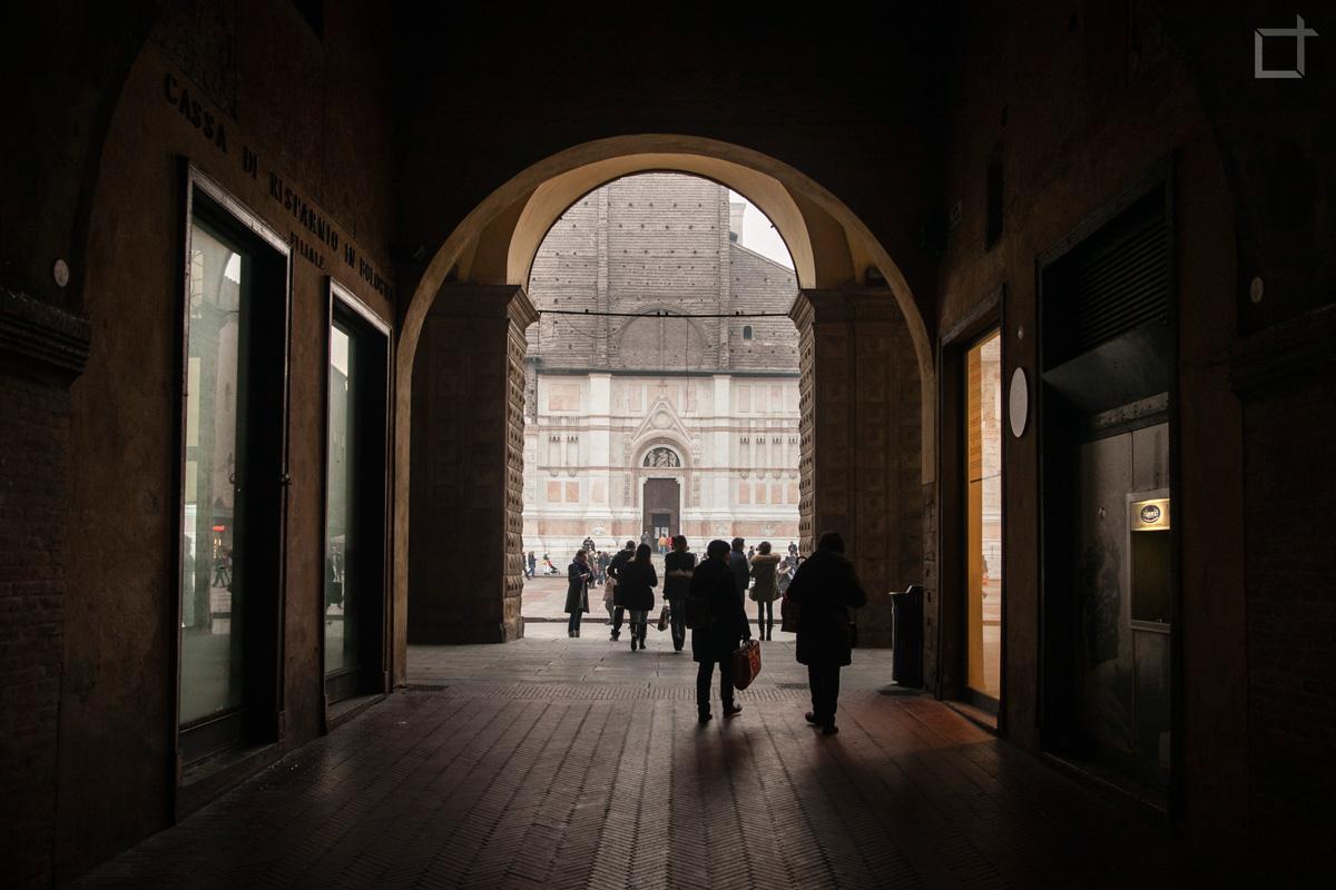 Arco su San Petronio