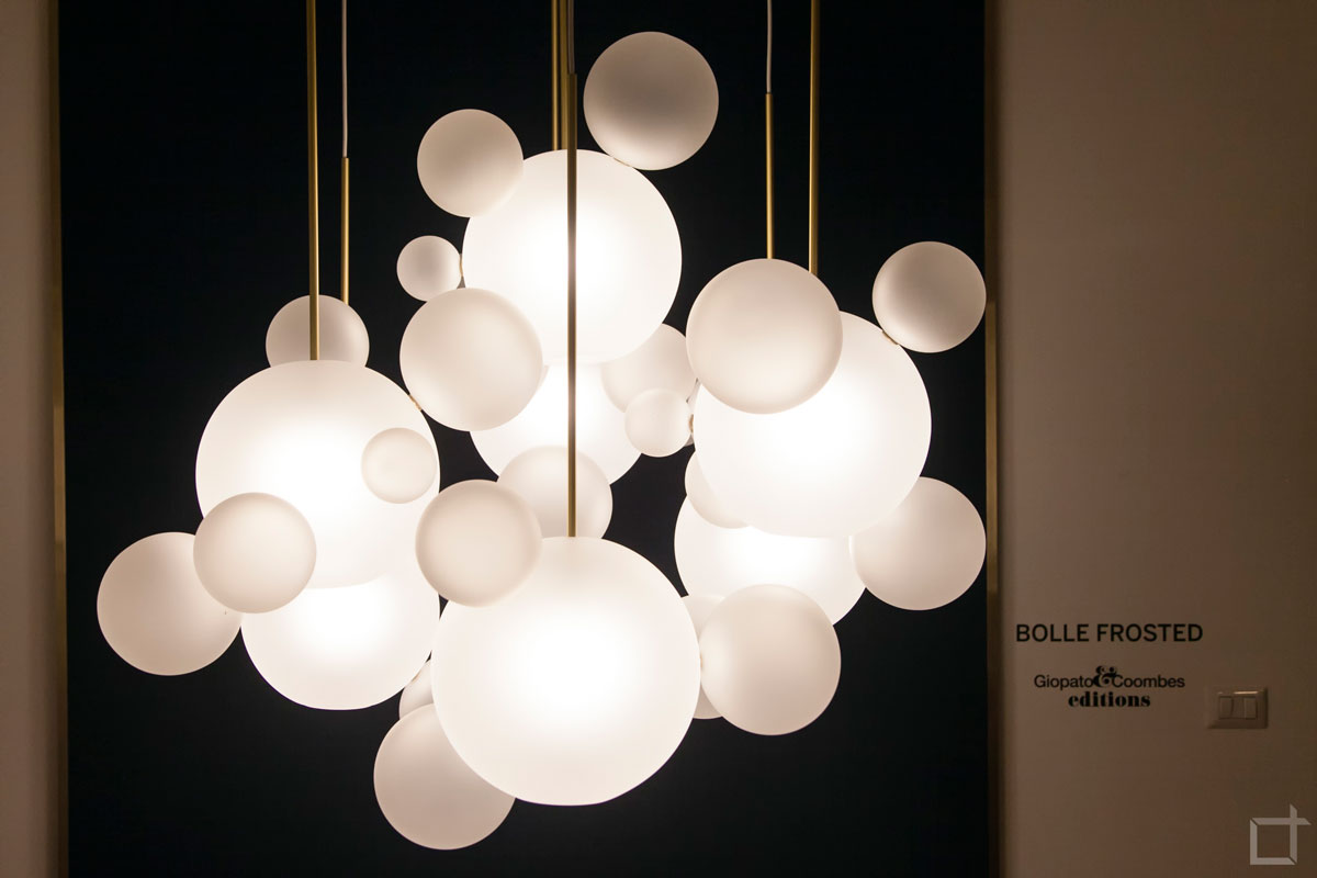 Bolle Frosted - Giopato Fuori Salone