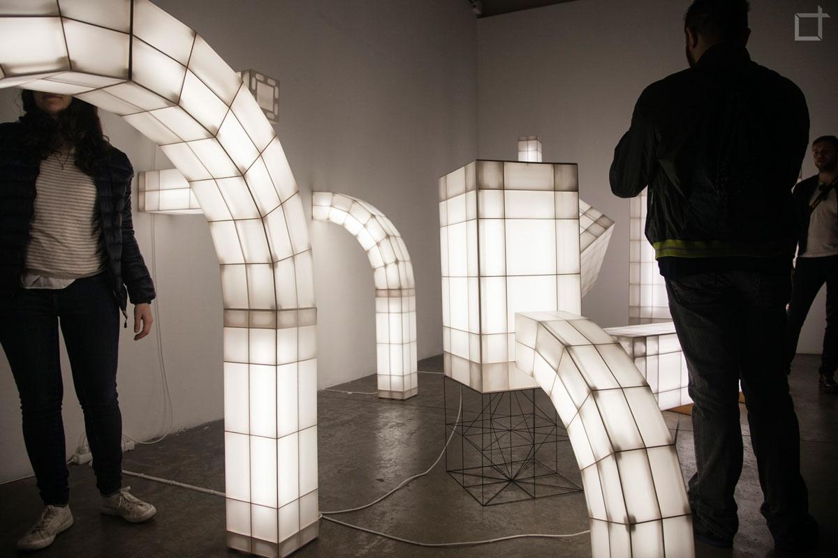 Installazione Luminosa Ventura Lambrate