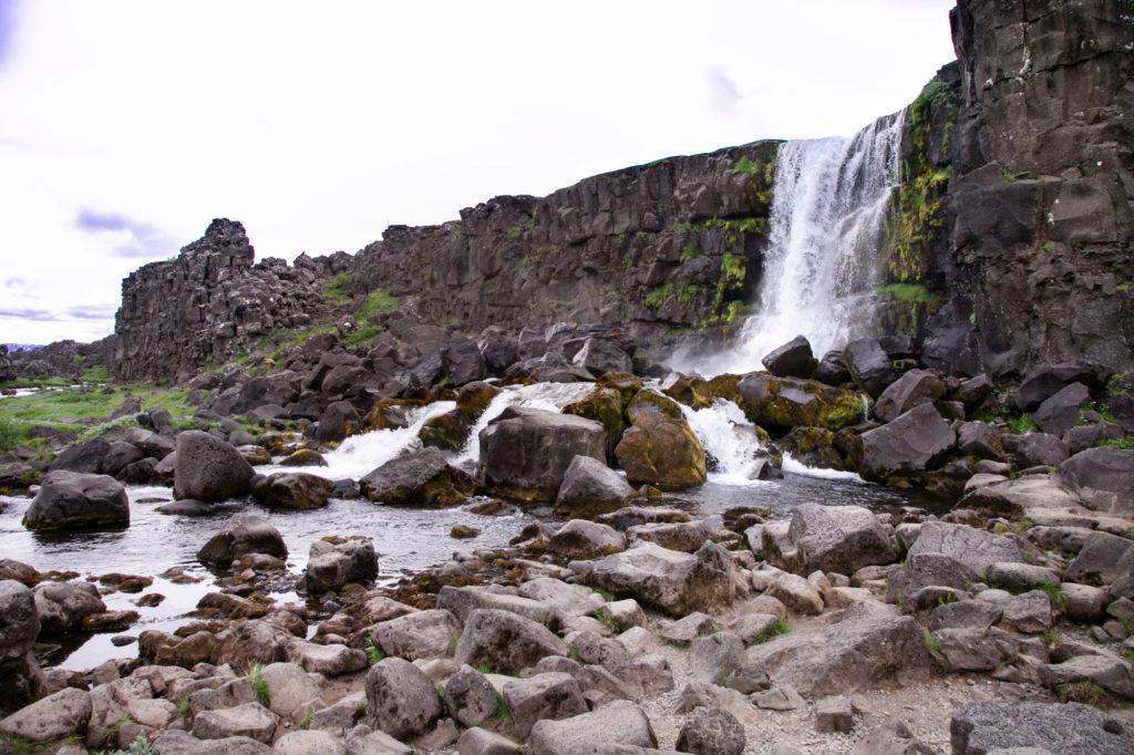 Cascata Parlamento Islandese