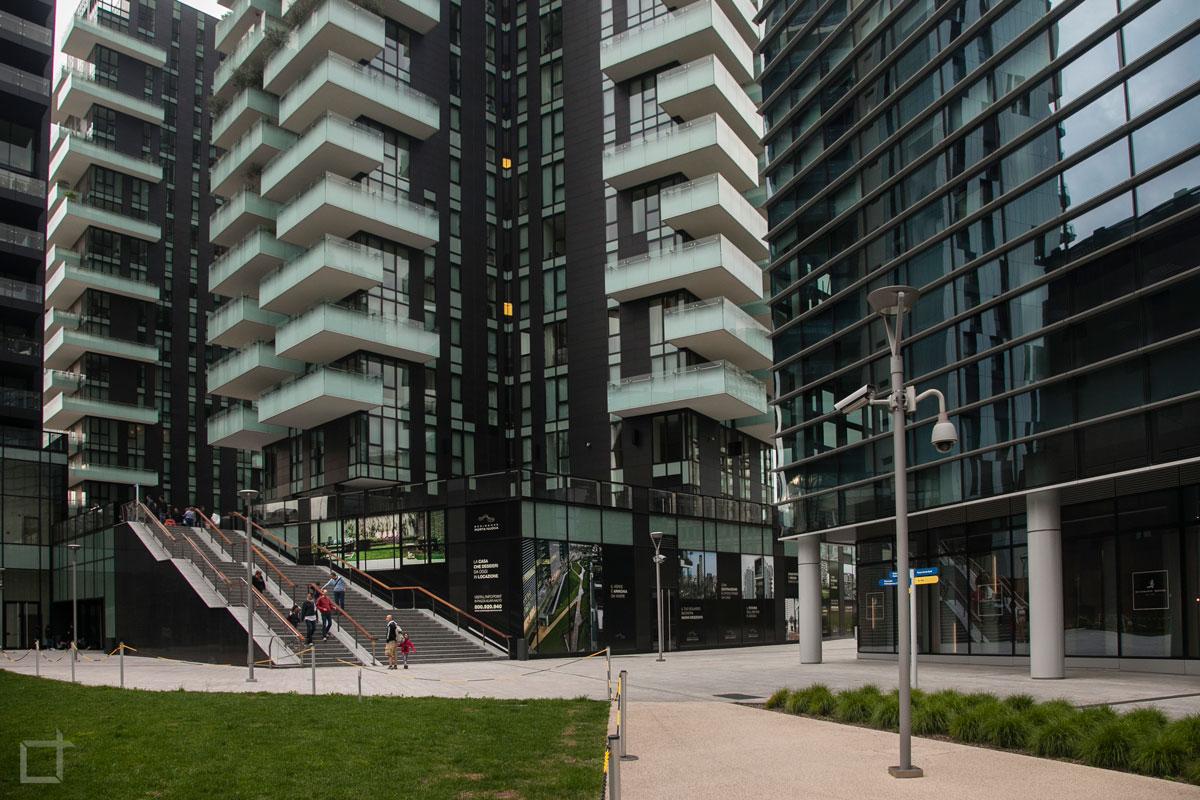 Porta nuova ed i grattacieli di milano la recente - Residenze di porta nuova ...