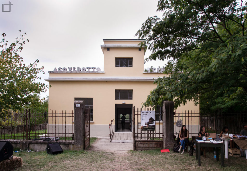 acquedotto spinadello selbagnone di forlimpopoli facciata