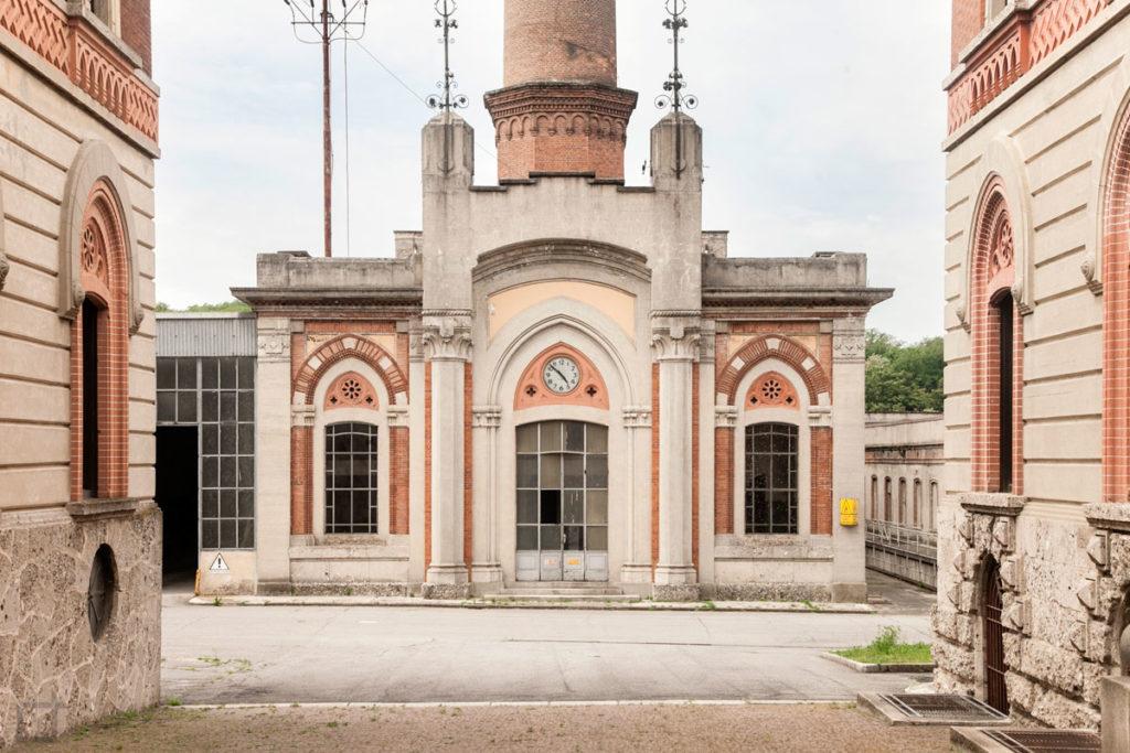 ingresso opificio villaggio operaio patrimonio unesco
