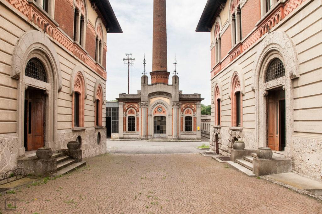 ingresso opificio sito unesco