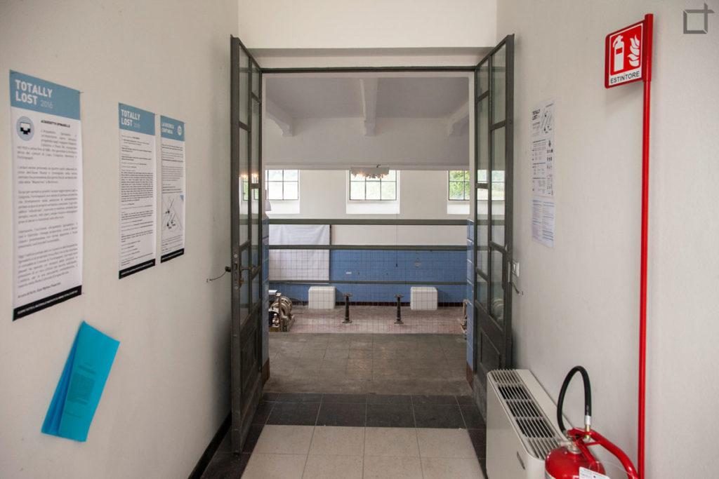 ingresso sala pompe