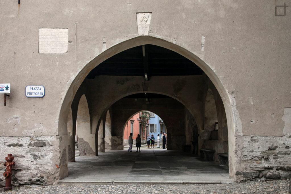 Palazzo Pretorio Piazza Pretorio