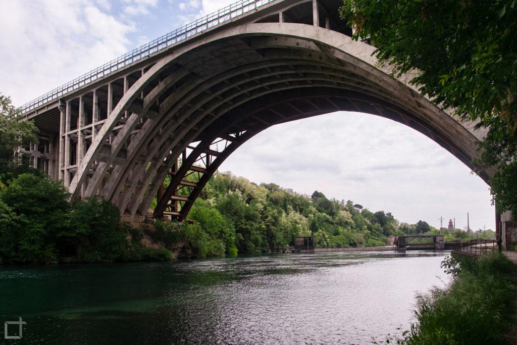 ponte autostradale parco adda nord