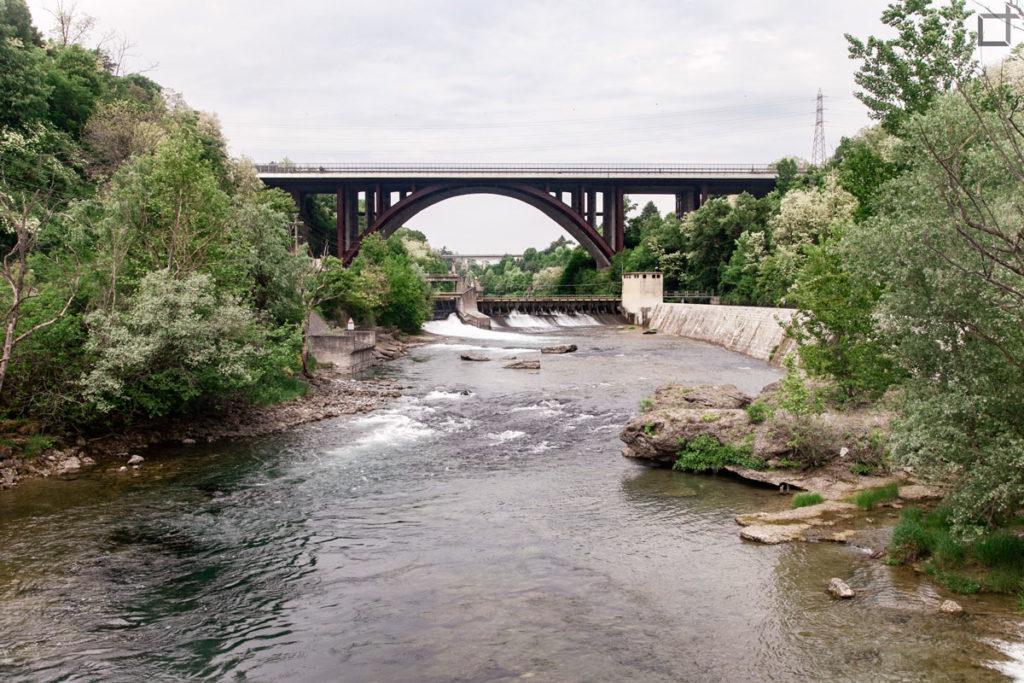 ponte autostrale capriate san gervasio - parco adda