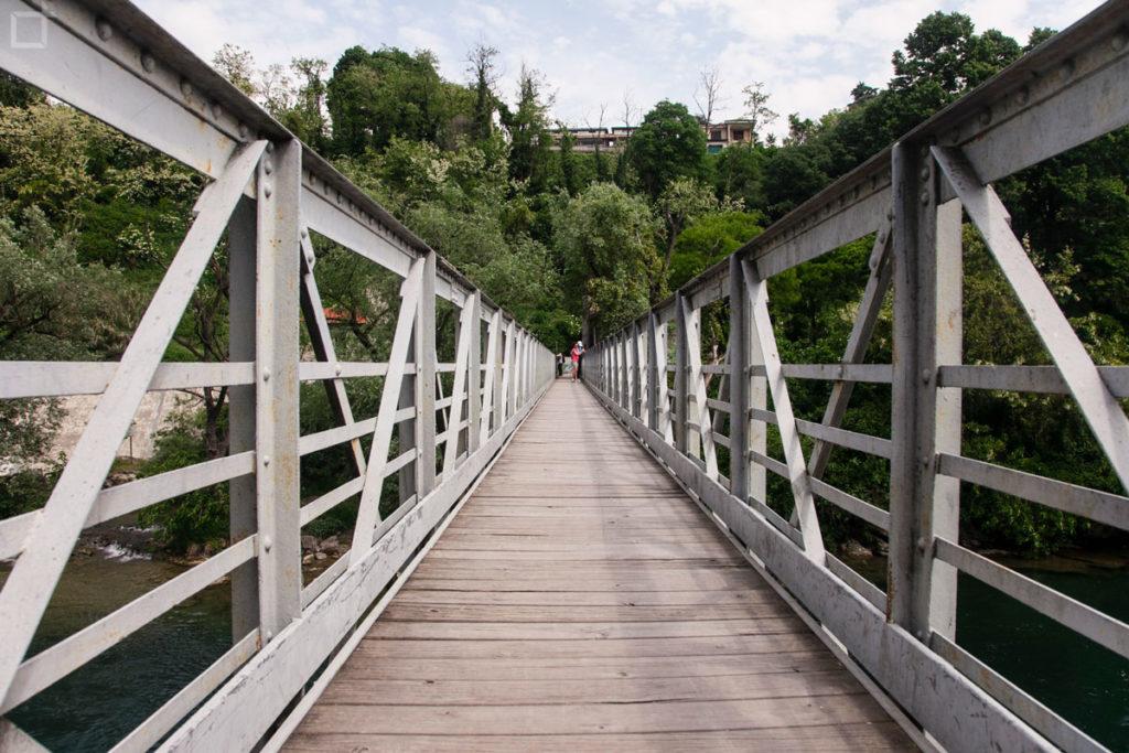 ponte pedonale parco