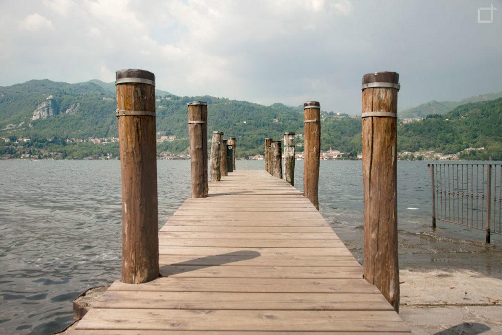 Pontile Lago d Orta