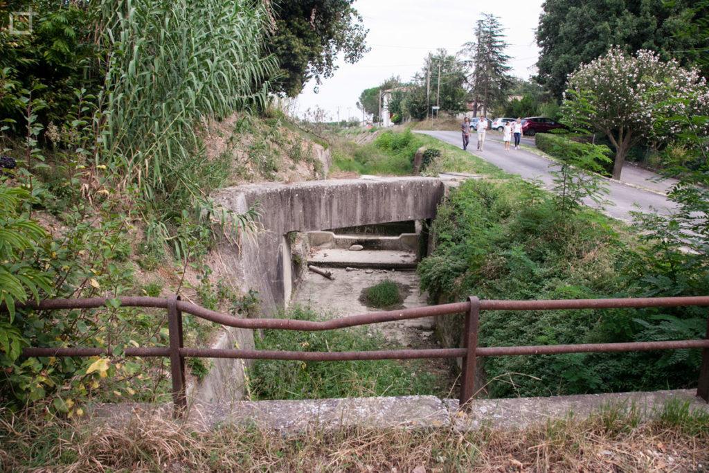 rio ausa forlimpopoli ponte