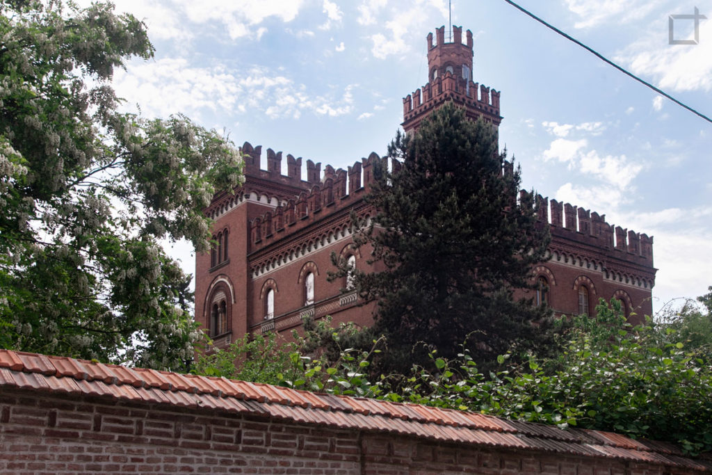 villa Crespi - Torri e merletti