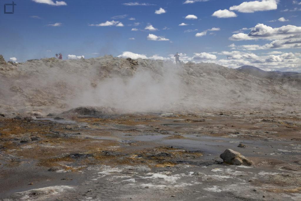 area geotermale Islanda