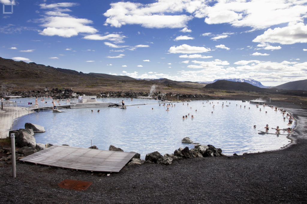 bagni termali lago Myvatn - Islanda