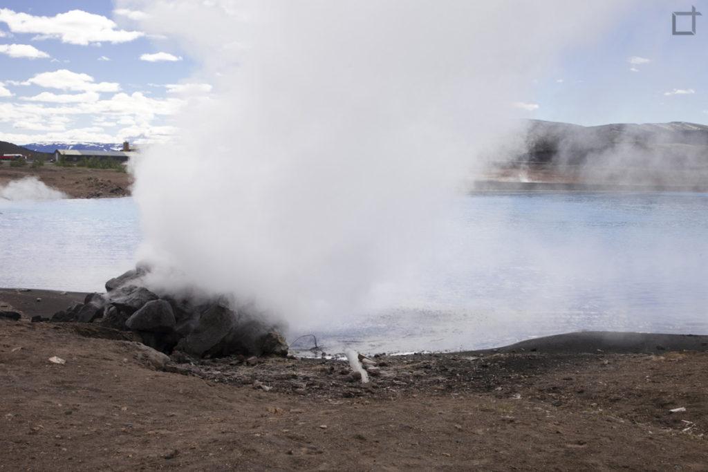 Bjarnarflag - stazione geotermale