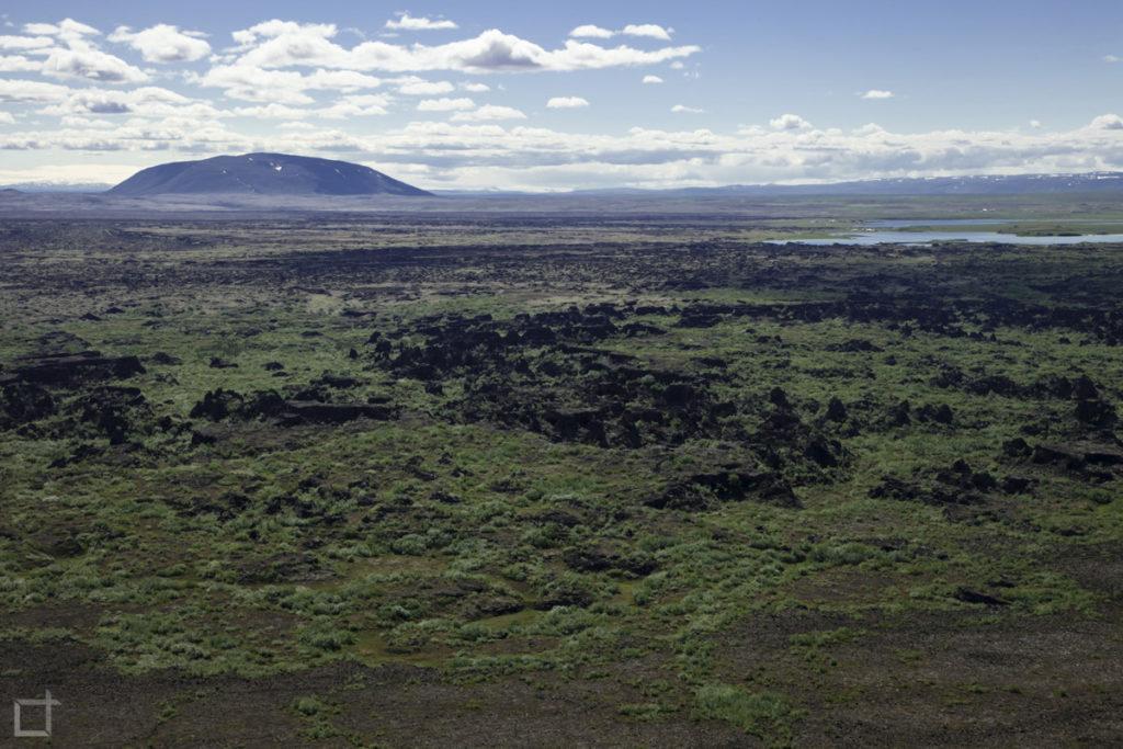 campo di lava - nord Islanda