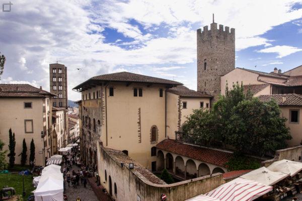 casa del Petrarca - arezzo - cortile