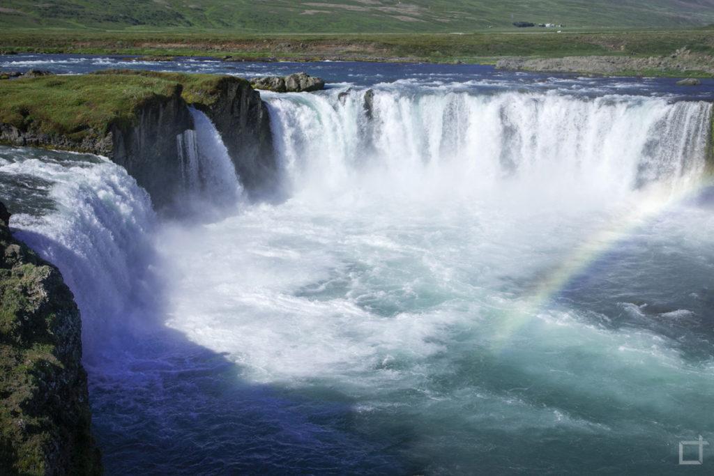 cascata Godafoss - 12 metri
