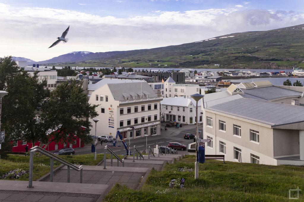 Centro storico - Akureyri dall'alto