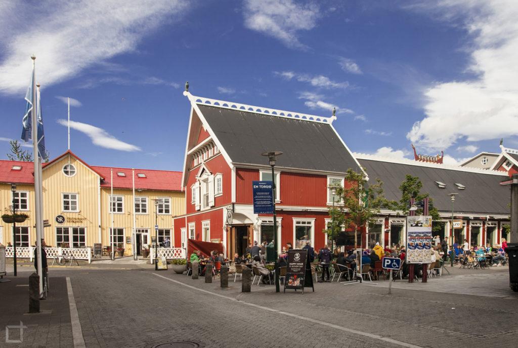 centro storico di Reykjavik