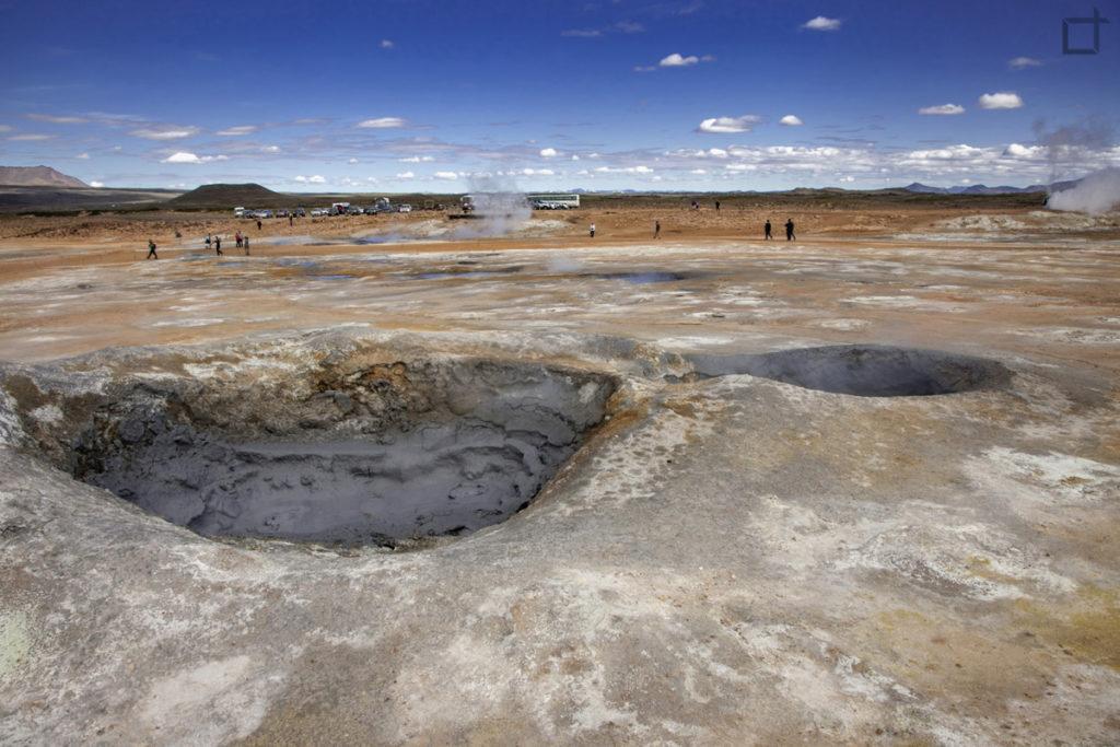 crateri Krafla - Islanda