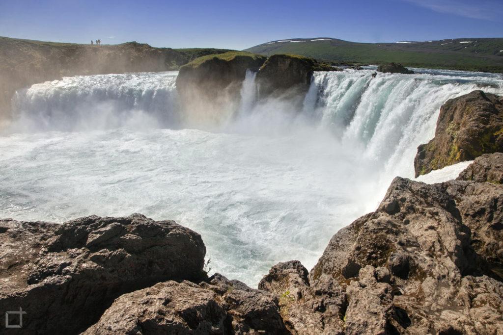 Fiume Skjalfandafljot e cascata Godafoss - Islanda