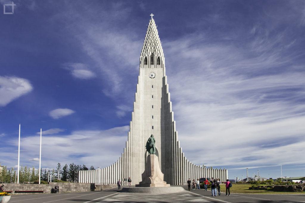 Hallgrimskirkja chiesa Reykjavik