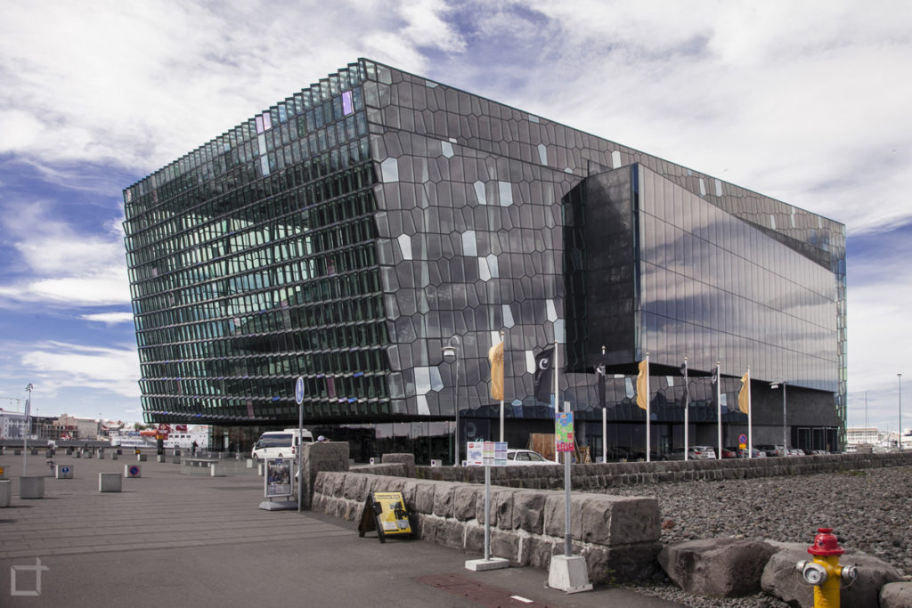 Harpa concert hall and conference center