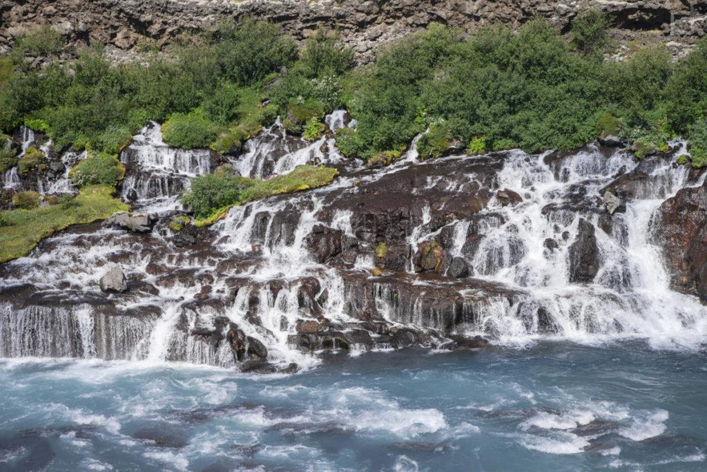Hraunfossar - Islanda