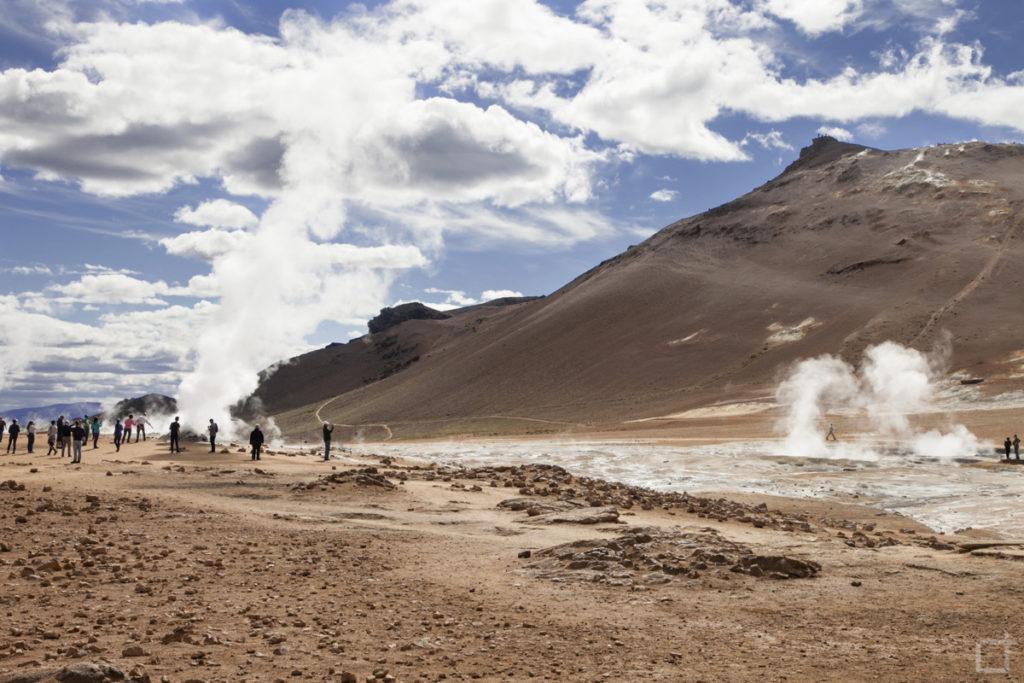 Hverir crateri rossi - Islanda