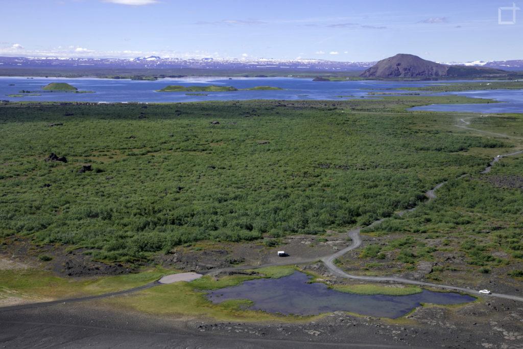 lago Myvatn e natura selvaggia Islanda