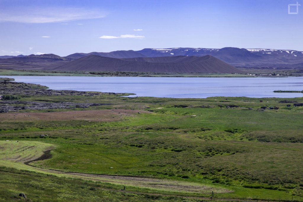 lago Myvatn e vulcano Hverfjall