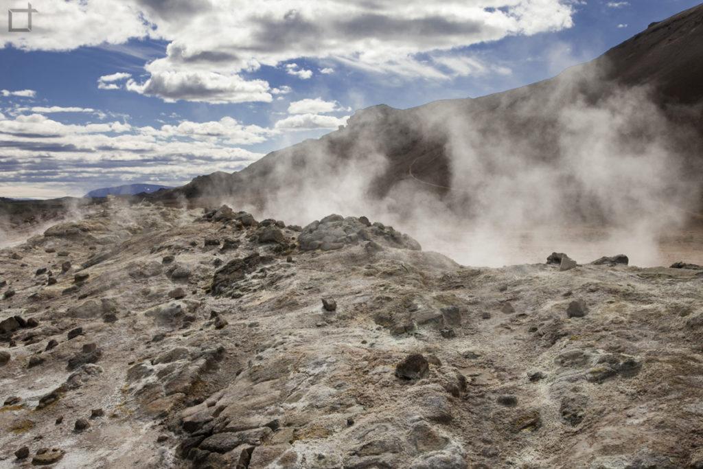 lava e crateri