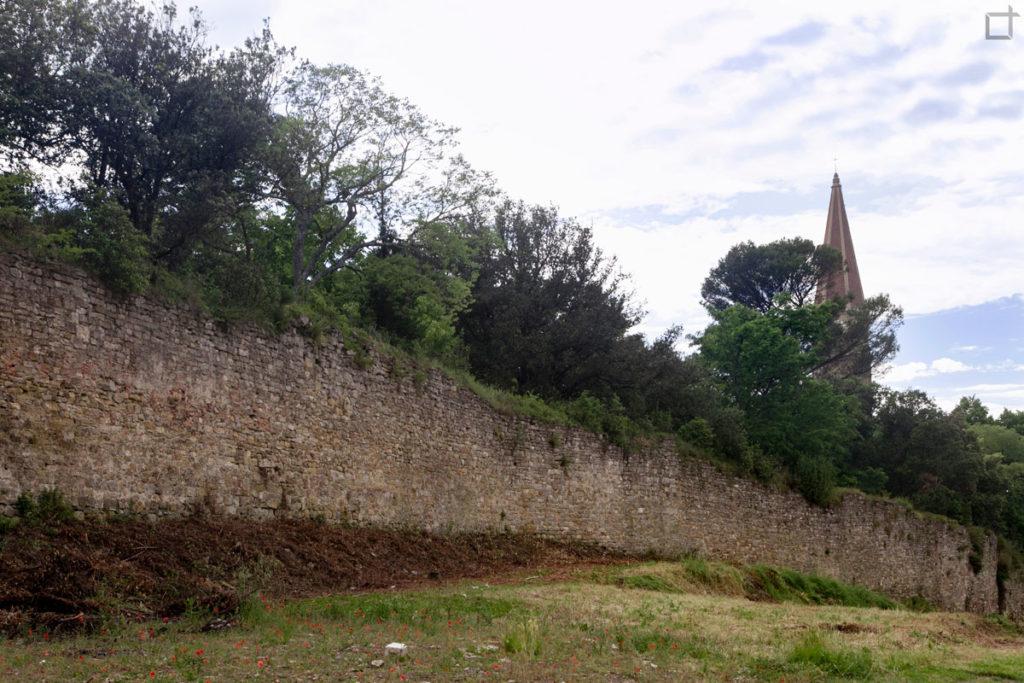mura difensive - arezzo