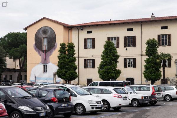 murales di seth - parcheggio Arezzo