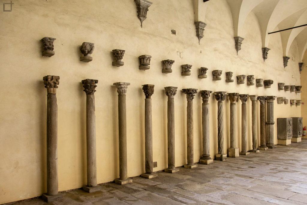 museo archeologico - arezzo colonne