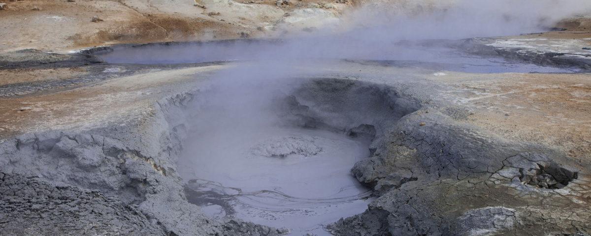 Pozza di fango ribollente