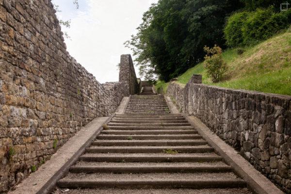 scalinata mura
