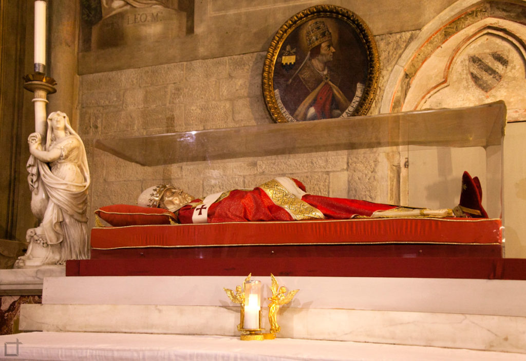 spoglie papa gregorio X