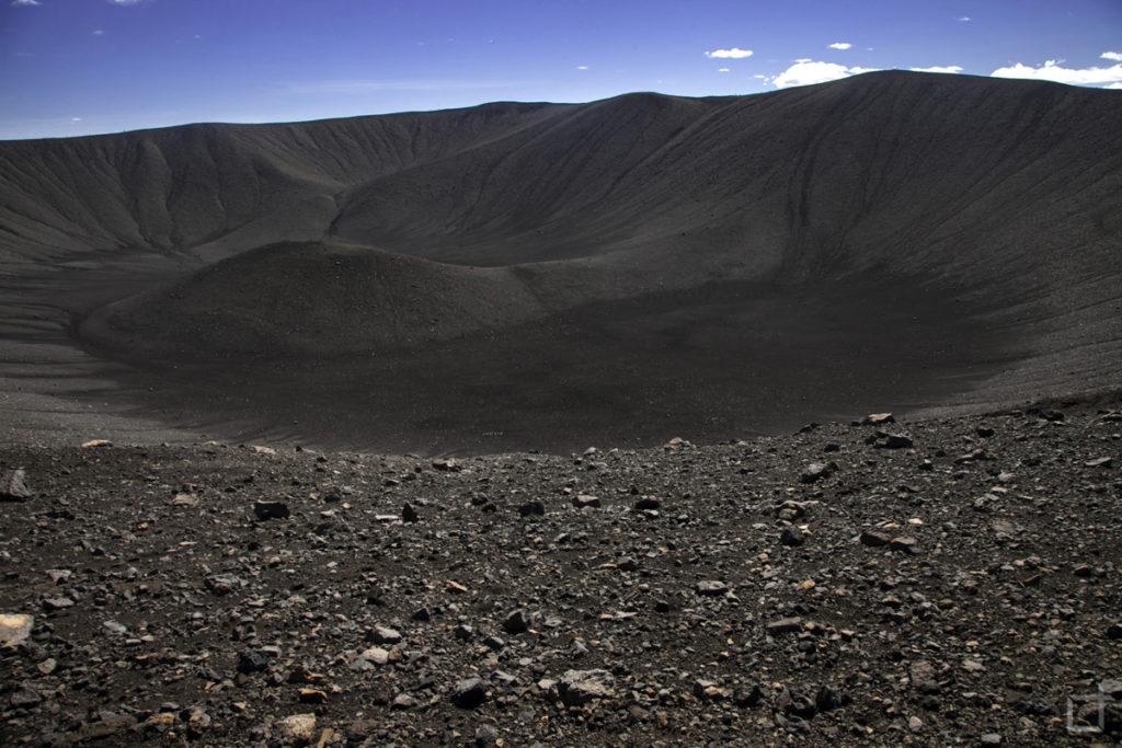 vulcano Hverfjall Islanda