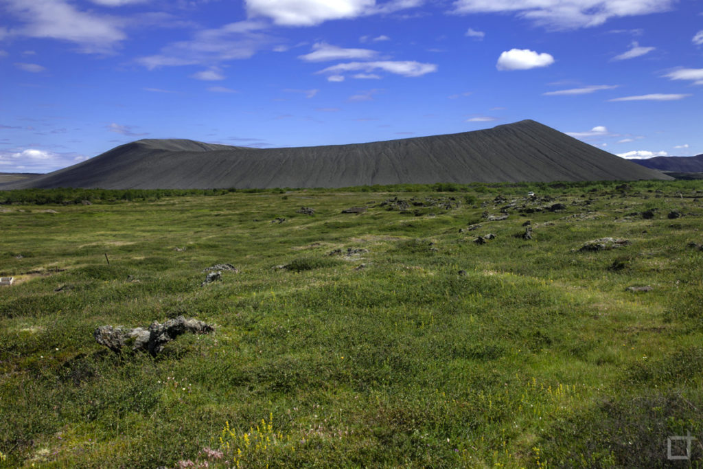 Vulcano Hverfjall - Islanda e natura