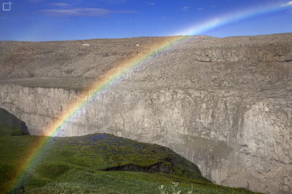 Arcobaleno sul Canyon