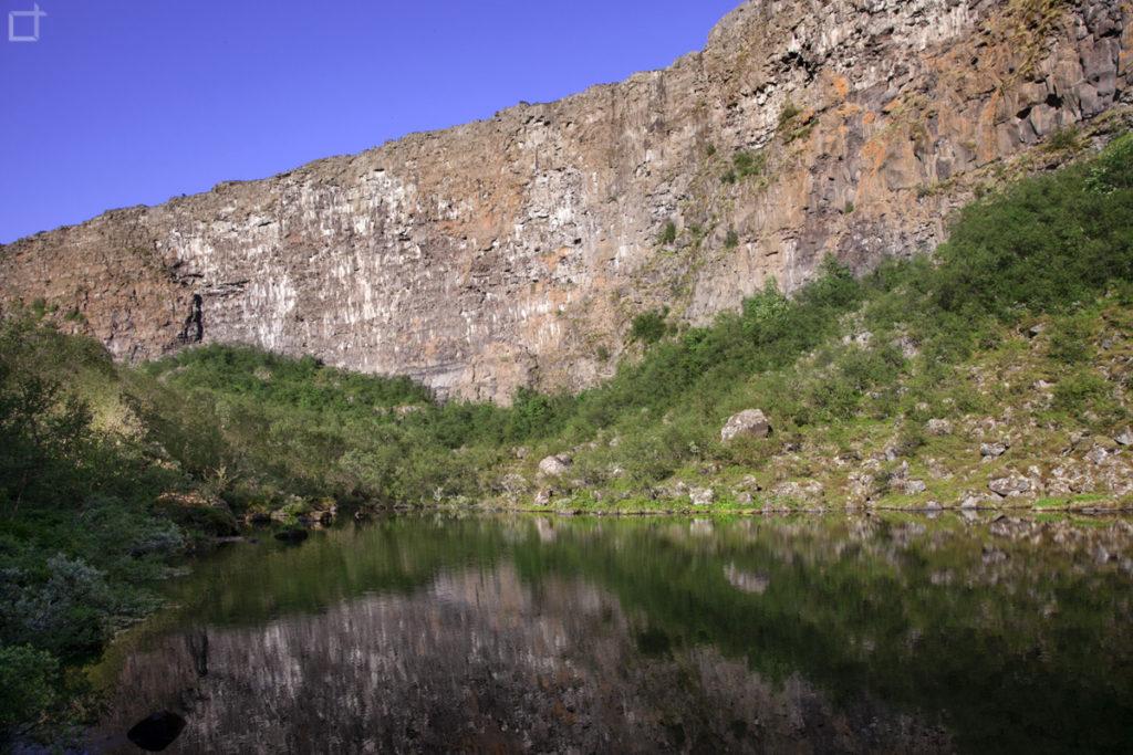 Botnstjorn Canyon Jokulsagljufur